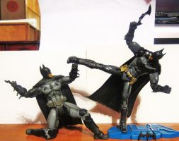 I'm Batman, No I'm Batman (3) by Drknght61