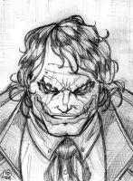 Dark Knight Joker Quickie by Kenpudiosaki
