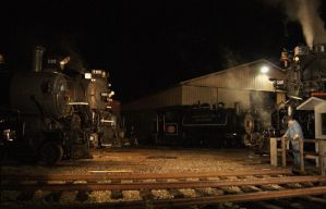 Night Meeting of the 3 Big Engines by JamesT4