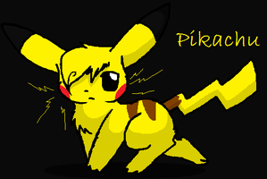 my version of pikachu :) by XxSkelly-BooxX