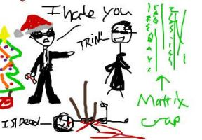 A Very Merry Matrix by Zookey64