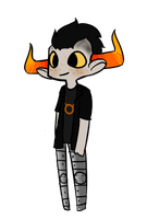 Tavros the Cutie Muffin by bunnytooths