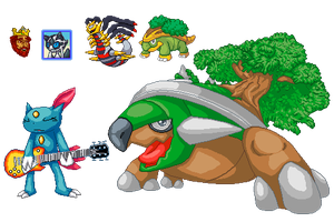 Miscellaneous Sprites and Pixel Art by Iakop