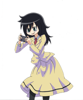 Watamote by longphinguyen