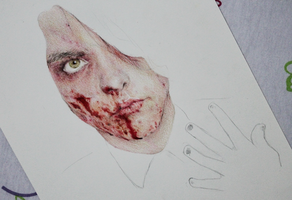 Gerard Way WIP by ierofrank