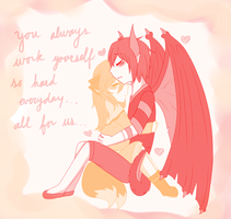 AW:: always there by harmpink456