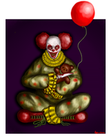 Clown by DariaPandora