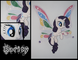 Rarity Wall Mural by Alouncara