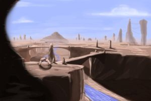 Canyon City back ground by Devfrost2000