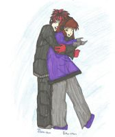 Damion and Yoko by firefoxtrot