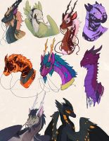 Dragons by NauroK
