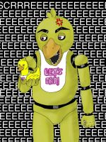 CHICA Five Nights at Freddy's by WolfPawShadowClaw