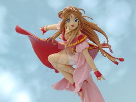 Joyful Belldandy in Sky 1 by ArtyAMG