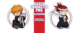 BLEACH pins by laurbits