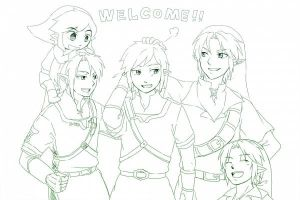 Welcome New Link! by AeroxVentusxYuni