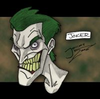 Joker - Colour by callmemilo