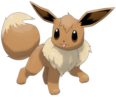 Pokemon Y: Eevee by Smiley-Fakemon