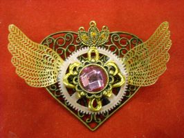 sailormoon steampunk locket 6 by TimelessCharm