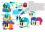 Blu Reference Pic (REDESIGN) by Bubble-Bash