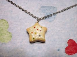 Sugar Cookie Necklace by Cryssy-miu