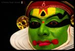 Kathakali: Laxman 2 by Photogrartist
