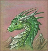 Kalen the dragon by AlviaAlcedo
