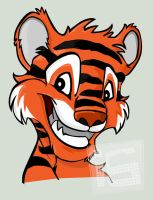 tiger by ijographicz