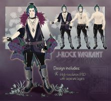 J-Rock Vagrant Collaboration [HALF OFF SALE] by LuckySquid