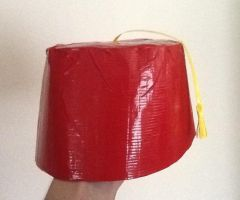 Tape Fez by ArtKing3000