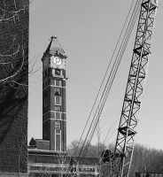 Shot tower and crane by k4-pacific