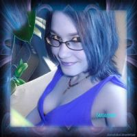 Me..Blue by charcoaledsoul