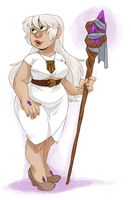 WIZARD IN WHITE by AgentDax