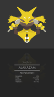 Alakazam by WEAPONIX