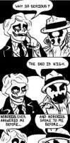 Joker Meets Rorschach by Penguinton