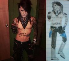 Drawing Ashley Purdy by DimitriBelikov