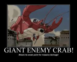 Giant enemy crab by grimmjack