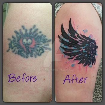 Cover up by Tattoofish