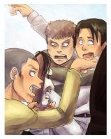 Shingeki no PhotoBooth: HEYYY GUYS by Cykranoshka