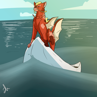 Sun and sea by Shady-Raichu
