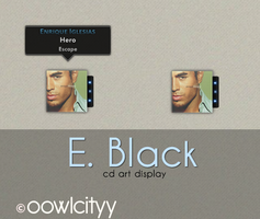 E. Black by oowlcityy