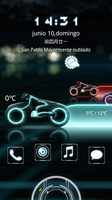 Tron MIUI Locker Android Theme by Morrissex