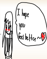 i hope you feel better D2 by dxa18
