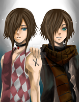 Twins 2 by shrimpHEBY
