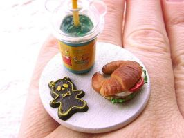 Lunch Ring Croissant Sandwich by souzoucreations