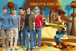 One Direction Barbies by pinkdimonds