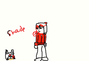 .:Request:.Shade without his hoodie(Human and cat) by Themysterydrawer