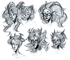 troll girls by crovvn