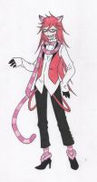 Cheshire Grell Sutcliffe by HikazePrincess