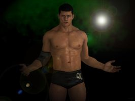 Cody Rhodes by AlexFly