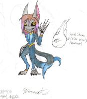 Werecat update by werecatkid17